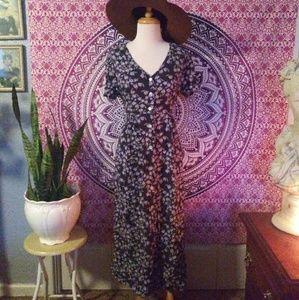 Vintage 90's Maxi Dress